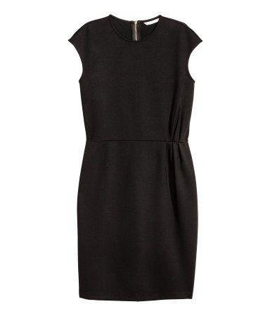 Kort kjole | Sort | Dame | H&M DK