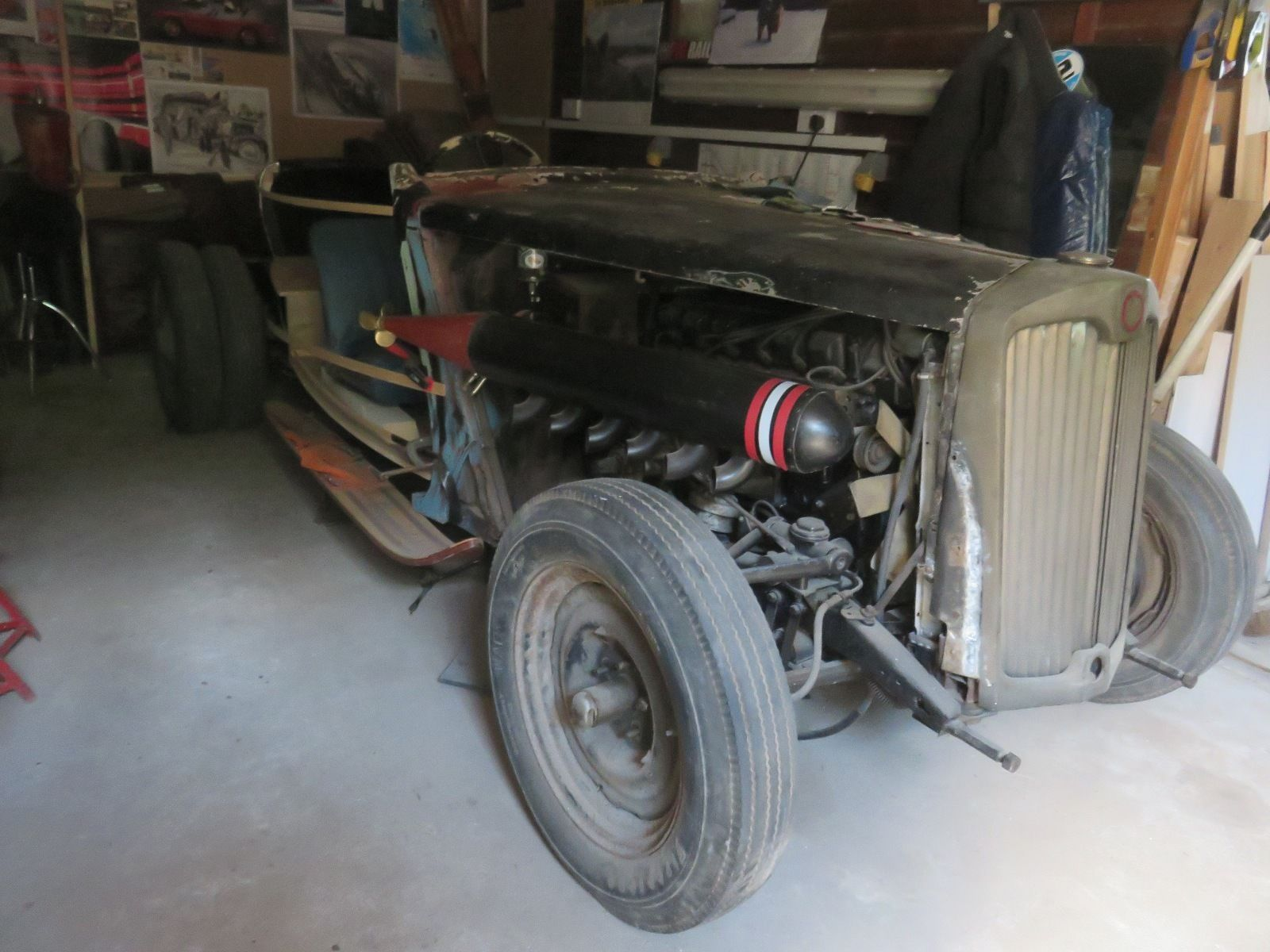 1952 Lea Francis Light 14….Mercedes 300E ...Rat Rod Hot Rod ...