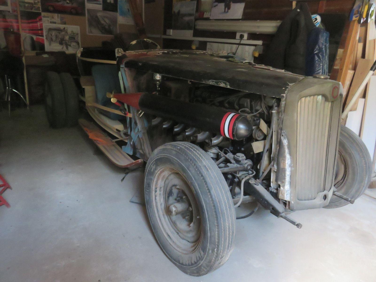 1952 Lea Francis Light 14 Mercedes Engined Rat Rod unfinished ...