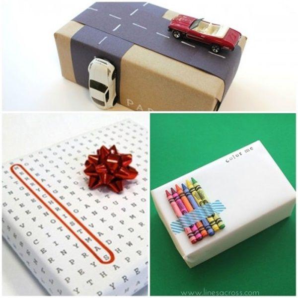 4 ideas para envolver regalos para niños | Navidad | Pinterest ...