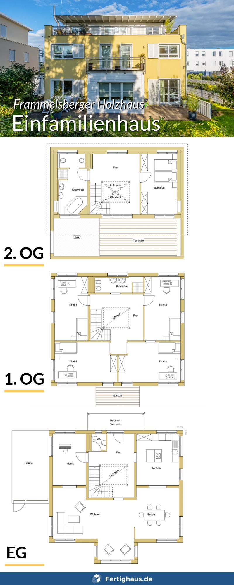 Einfamilienhaus mit 3 Etagen für Großfamilie