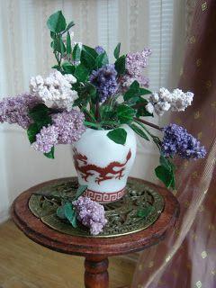 My little little dream: Миниатюрная сирень. Miniature lilac tutorial.