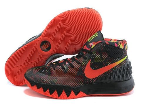 8fab8593b66 Mens Nike Kyrie 1 Dream Black Bright Crimson Anthracite White Online Shop