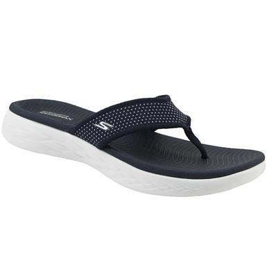 a25e4a54483a54 Skechers On The Go 600 Flip Flops - Womens Black