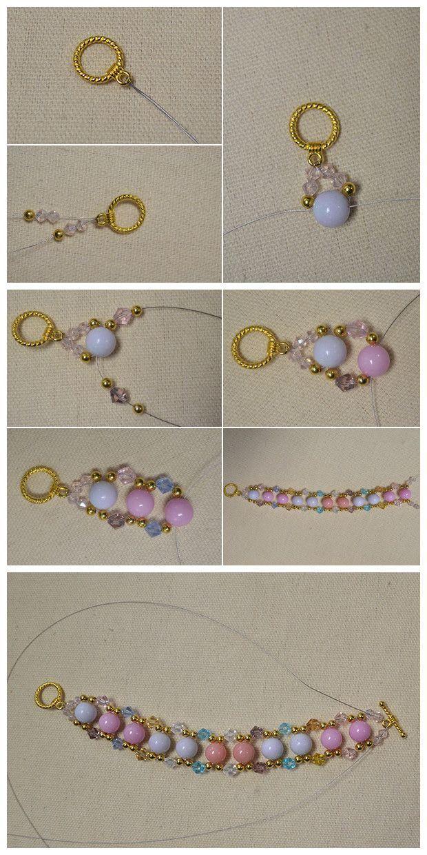 Photo of #Beebeecraft Jewelry – Easy #Colorful #BeadedBracelet Making Tutorial –   # Ch…
