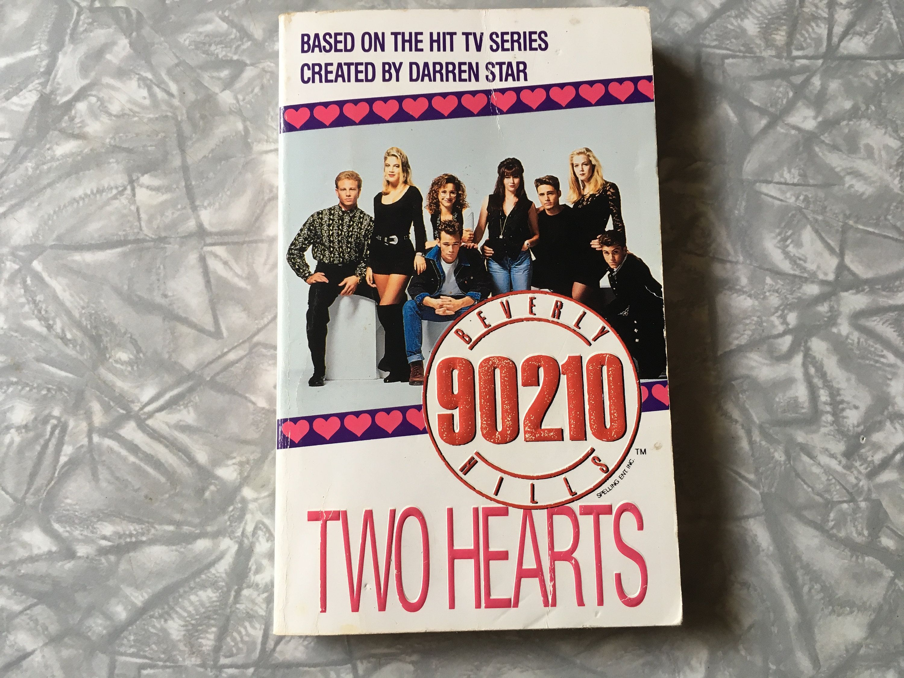 1993 Beverly Hills 90210 Two Hearts Chapter Book 1990 S Tv Tie