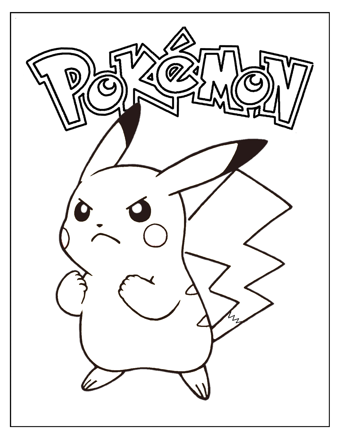 pikachu coloring page | coloring pages | Pinterest | Easter and Creative