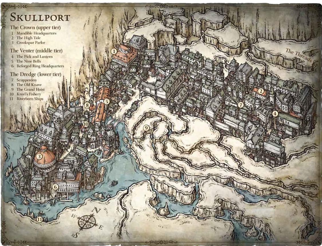 Skullport Forgotten Realms Wiki Fandom Powered By Wikia Fantasy Map Fantasy City Map City Maps