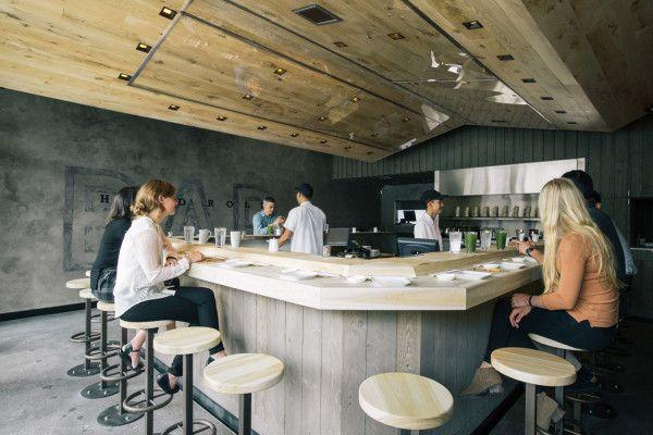 Marmol Radziner Designs KazuNori Interior Wood interiors