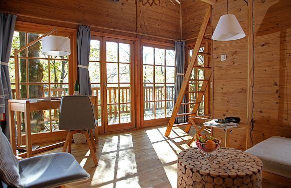 Die Lodge Baumhaushotel Seemuhle In Grafendorf Tagungshotel