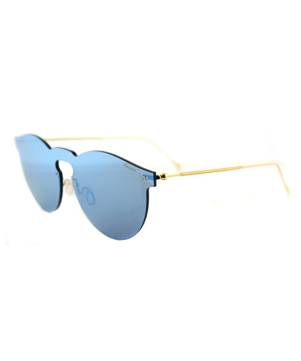 99ea69f3b8f ILLESTEVA Leo Mask Round Plastic Sunglasses .  illesteva  sunglasses ...