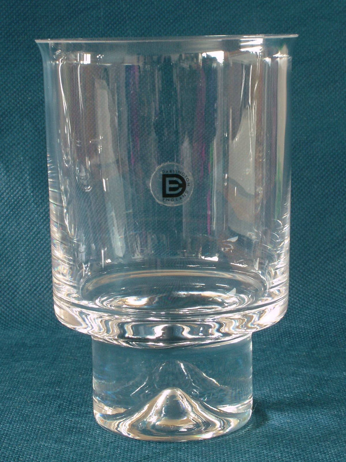 Pottery, Porcelain & Glass Dartington Glass Bud Vase Glass