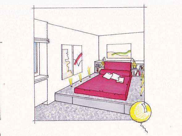 Schmale Raume Richtig Gestalten Schmales Schlafzimmer Kleines