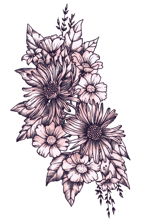 Most Popular Tags For This Image Include Flowers Overlay Png And Transparent Flower Tattoo Shoulder Realistic Flower Tattoo Tattoos