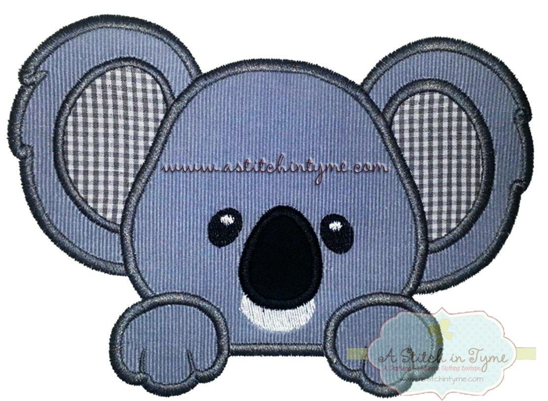 Koalaboyfaceapp Animals and Bugs Pinterest Embroidery