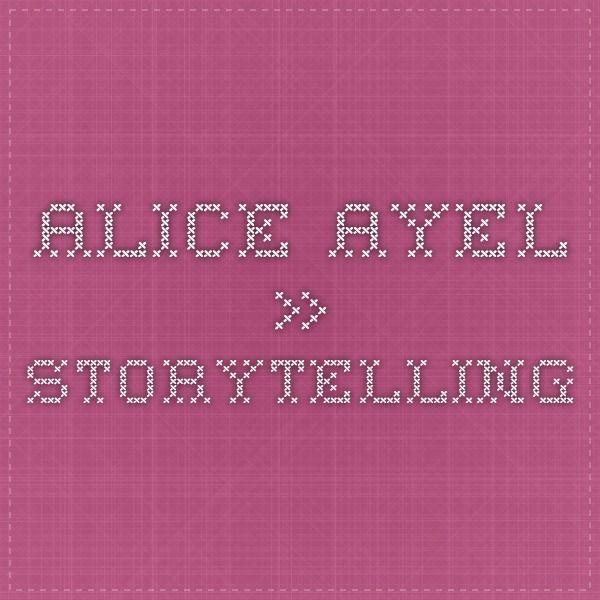 Alice Ayel » storytelling