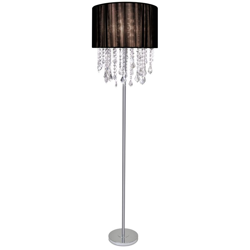 Light Floor Lamp Marseilles 135cm Chrome Base Bun052 I/N 4370657 ...