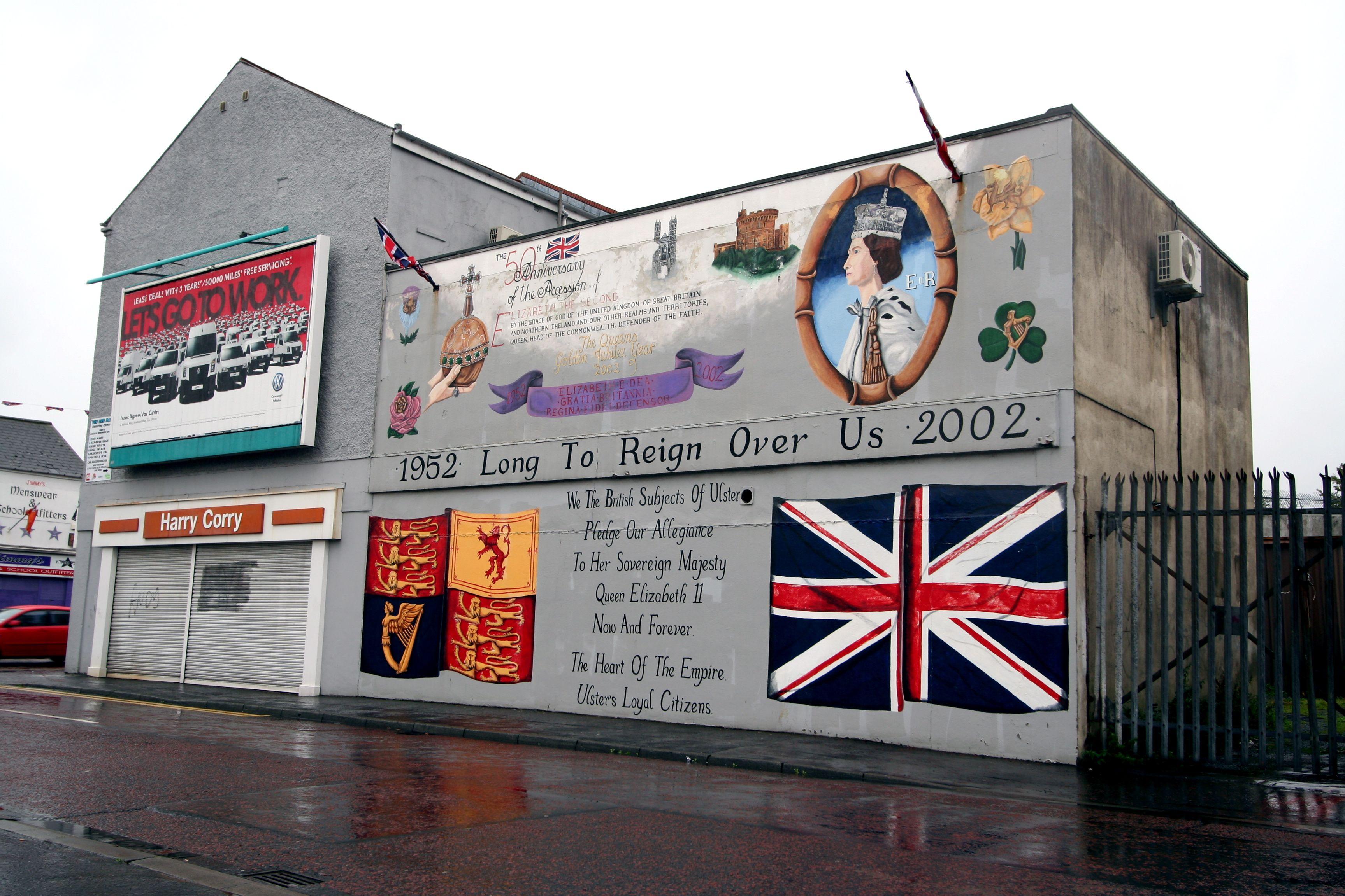 Belfast murals northern ireland places i 39 ve been for Mural northern ireland
