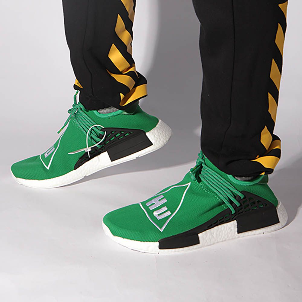830358c1adeb2 Mens size Human Race Adidas HU Green   PW unauthorized shoes in 2019 ...