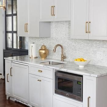 Best Light Gray Cabinets With Gray Quartzite Countertops 400 x 300