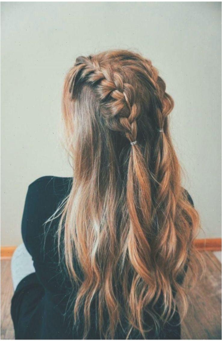 70 Super Easy Diy Frisur Ideen Fur Mittellanges Haar Ecemella Haarideen Hairideaseasy Hair Styles Long Hair Styles Hairstyle