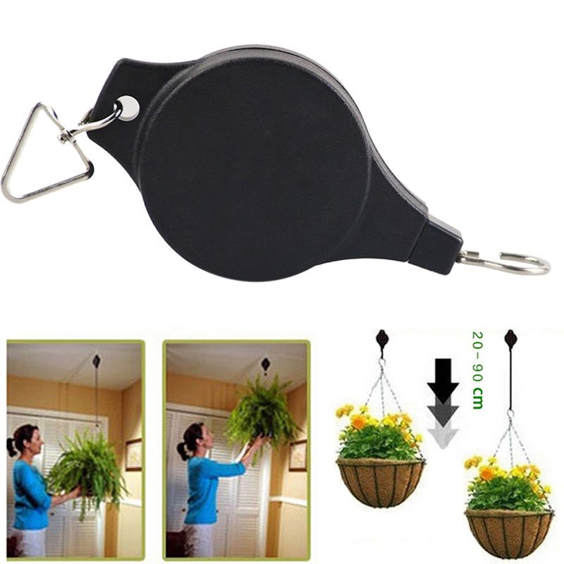 Cheap Hanging Basket, Buy Quality Hanging Basket Pulley Directly From China Pot  Plant Hangers Suppliers: High Quality Retractable Pulley Hanging Basket  Pull ...
