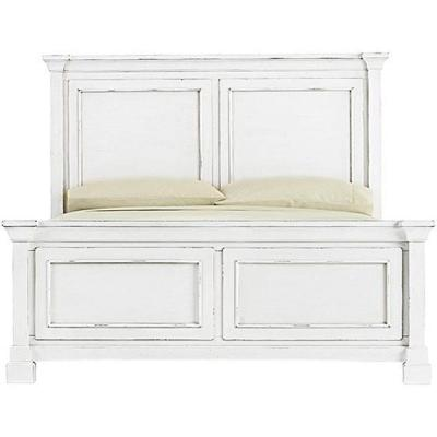 Best Bridgeport Antique White Queen Bed Frame 1872500460 400 x 300