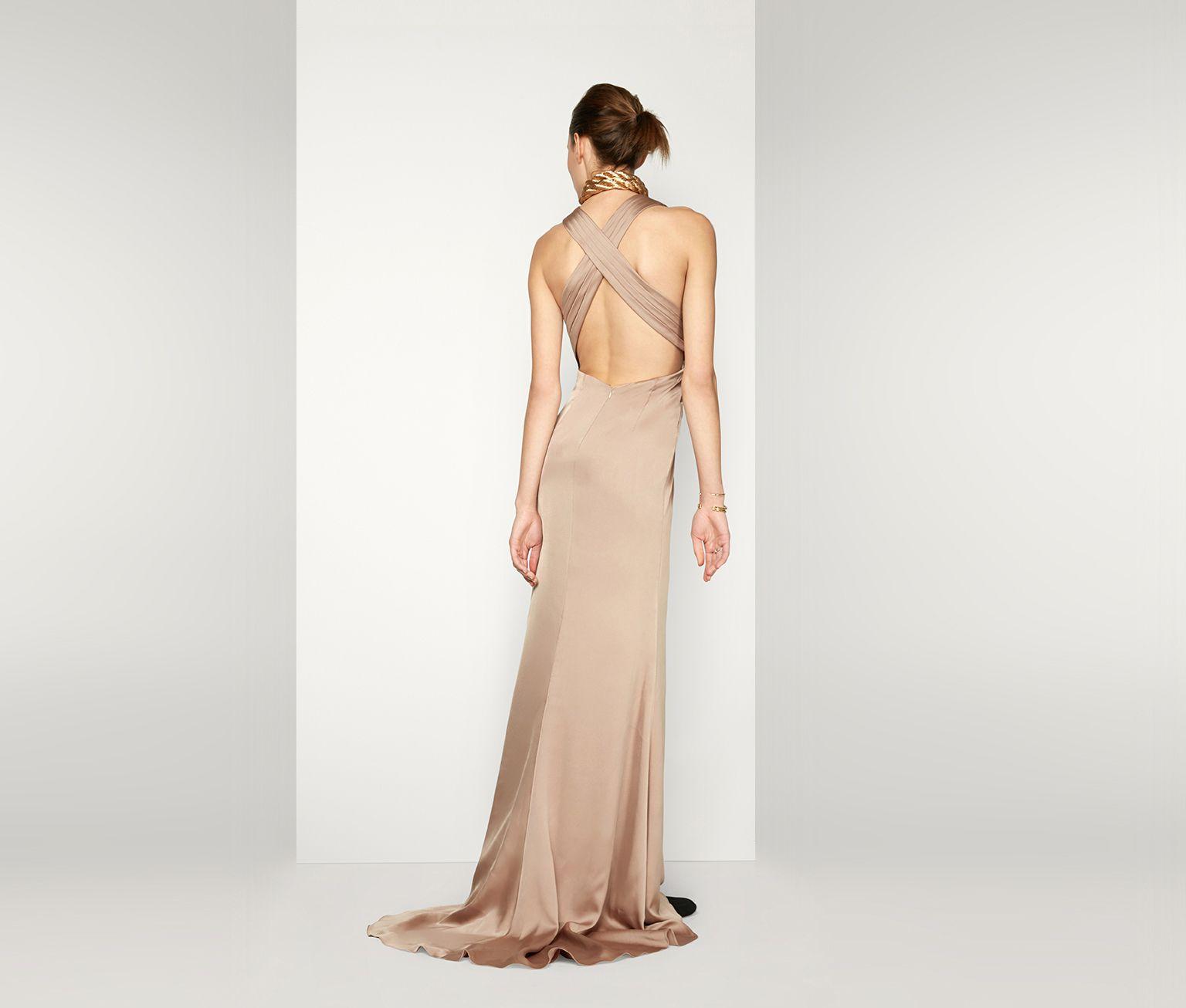Dark Tan The Borealis Dress Fame Partners Usa Dresses Backless Dress Formal Evening Dresses [ 1306 x 1536 Pixel ]