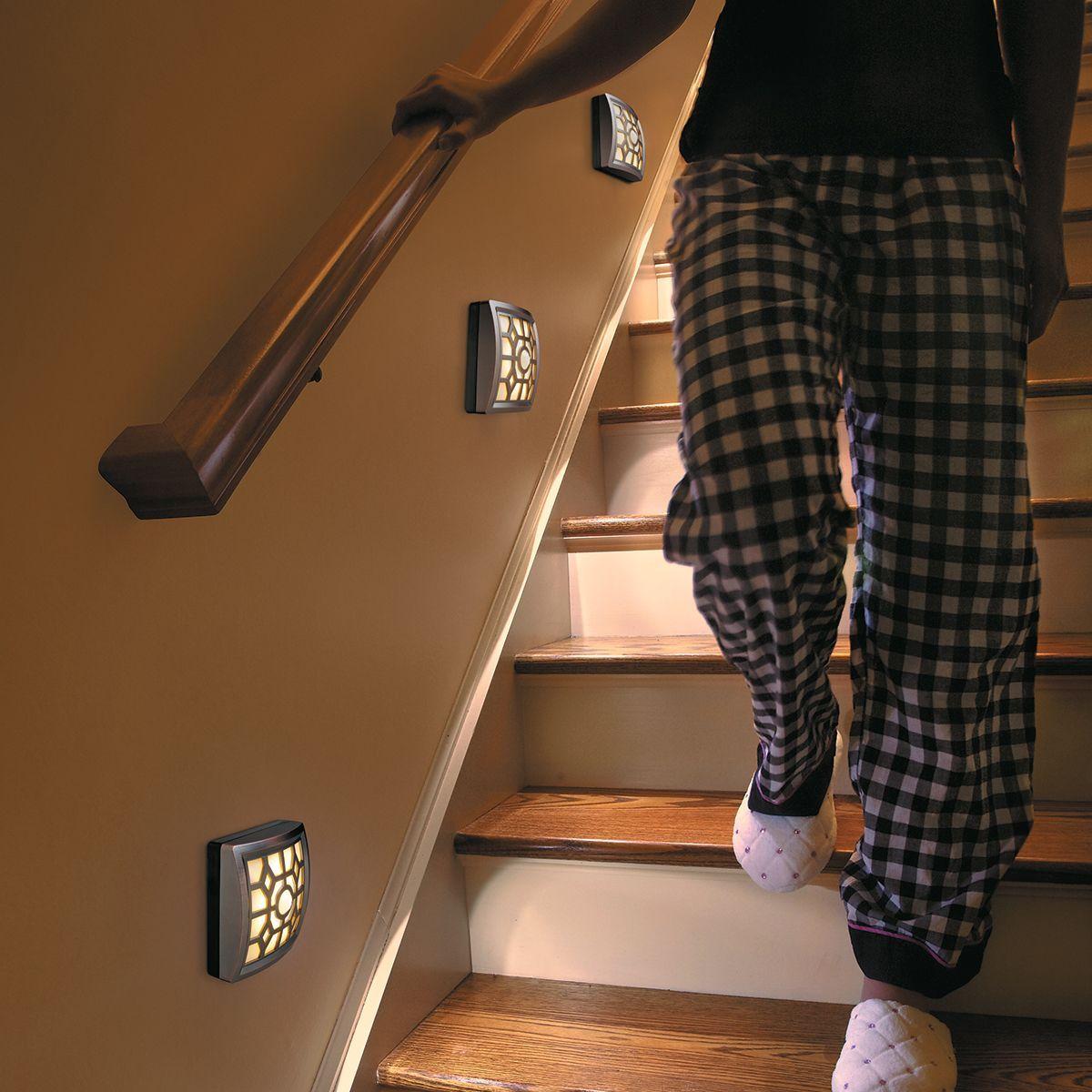 Motion Sensor Stair Lights Soft Glow Led Motion Sensor Light Staircases Lights And Stairways