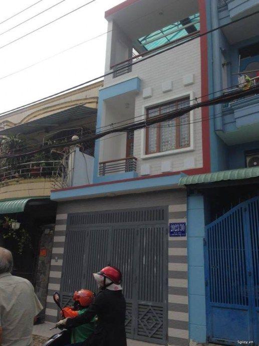 Bán nhà mặt tiền đường 12m 6x16m 1 trệt 1 lầuđường ĐHT17 P.ĐHT Q12