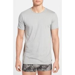 DIESEL 'Dave' Crewneck T-Shirt Grey Medium - product - Product Review
