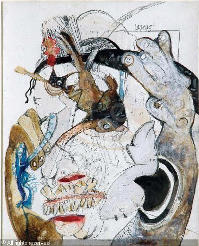 GANGULY Jaya,Untitled,Emami Chisel Art,Kolkata (formerly Calcutta)