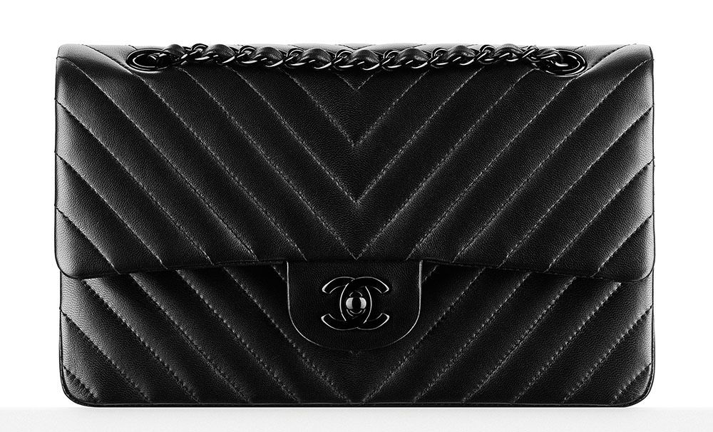 1435a6b2d17d Chanel Chevron Classic Flap Bag $4,900 ... Lust List | Fashion ...
