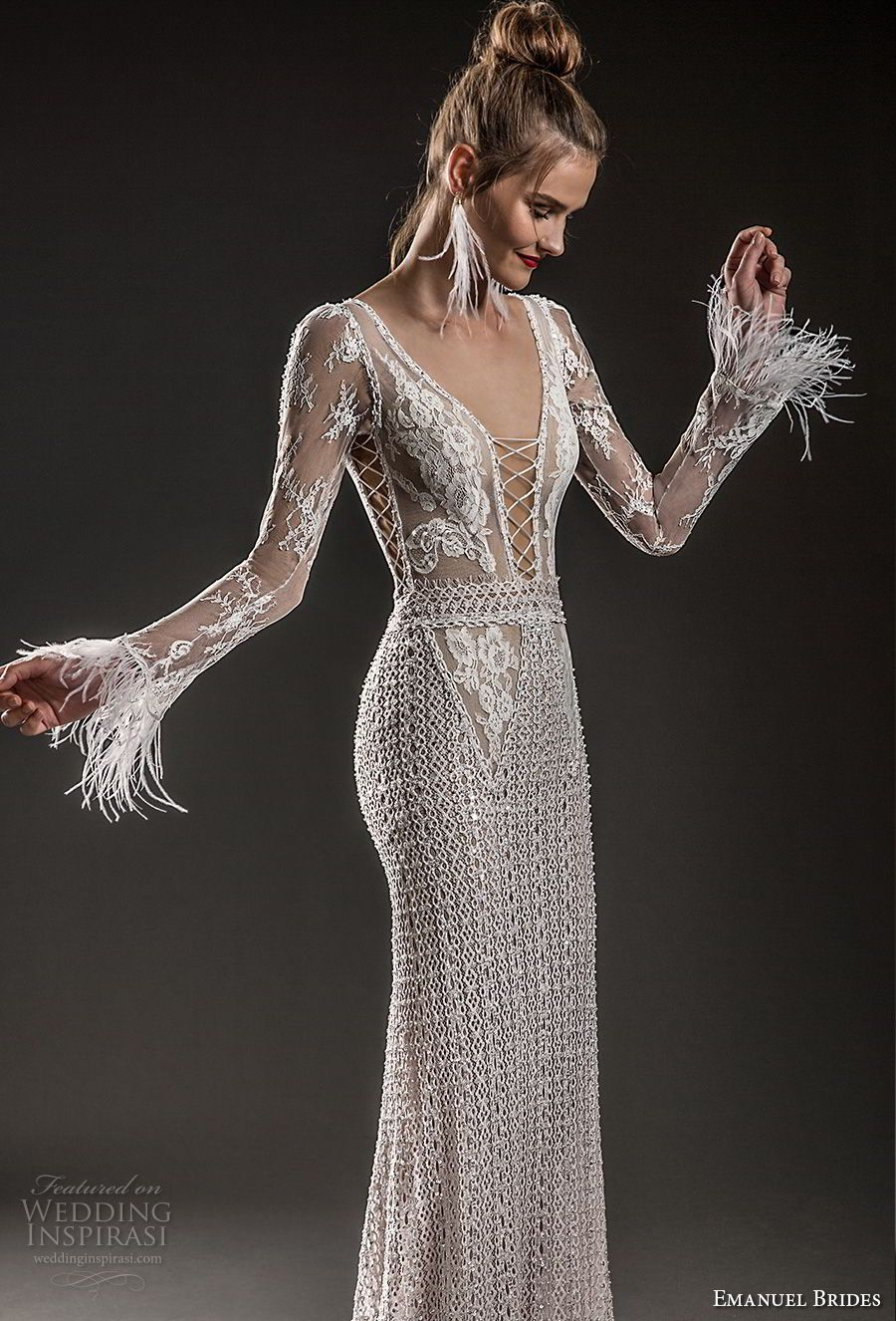 Emanuel Brides 2018 Wedding Dresses   Pinterest   Wedding dress ...