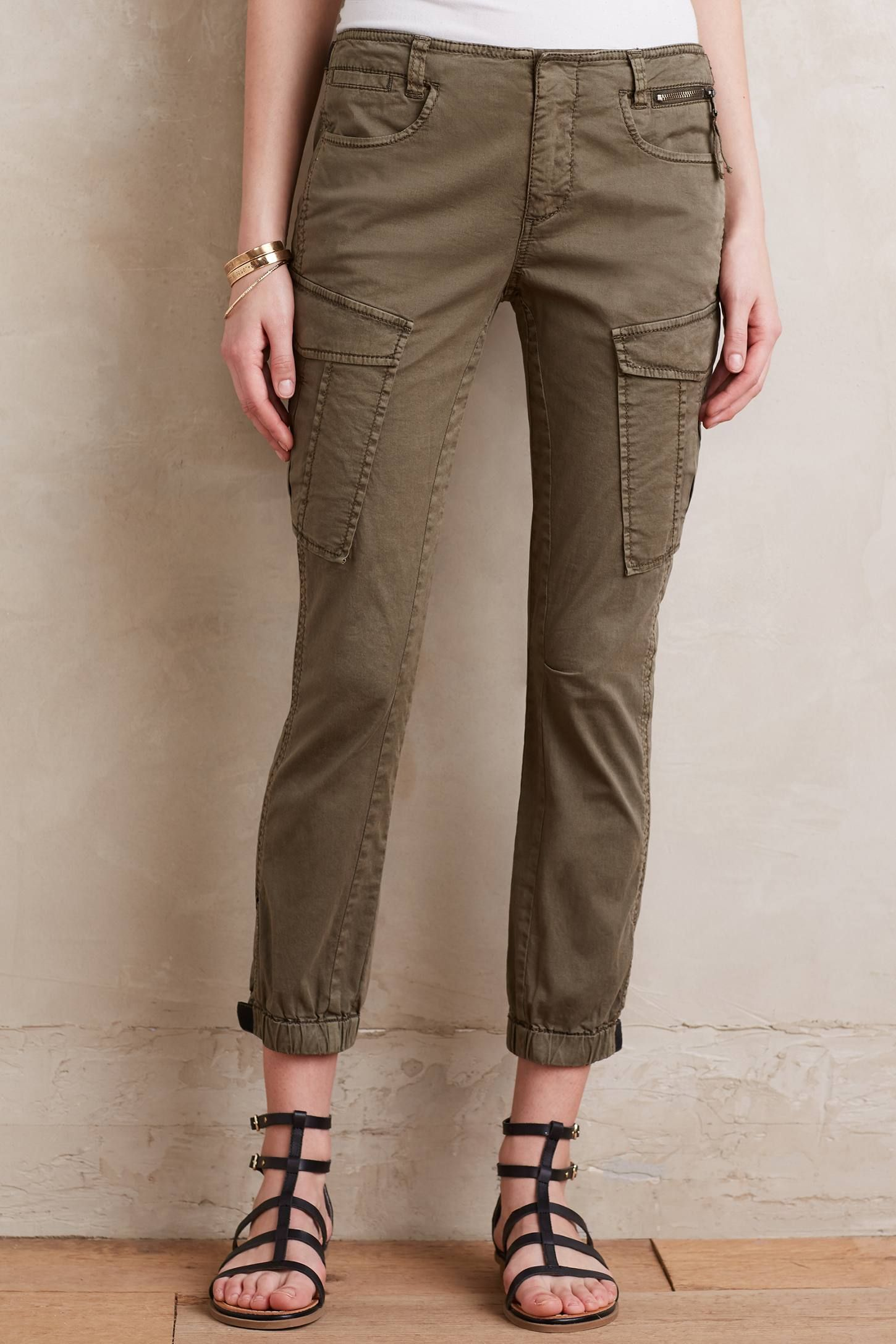 Dixie Cargo Crops - anthropologie.com
