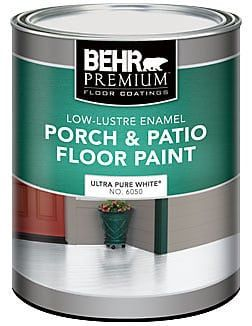 Update Your Bathroom Tile with Floor Paint is part of Painting bathroom tiles, Painting kitchen tiles, Patio flooring, Porch paint, Tile bathroom, Painted bathroom floors - Floor paint is a quick and easy way to update your bathroom tile on a budget! Find out how to paint tile floors with this handy tutorial and video!