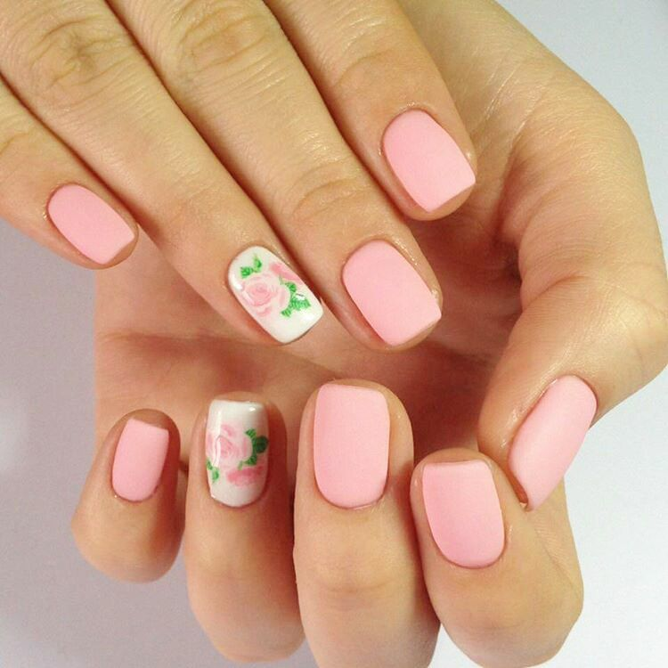 Christmas Diy Nail Ideas And More Of Our Manicures From: Matte Nails 2020: Trendy Designs For Long Or Short Nails