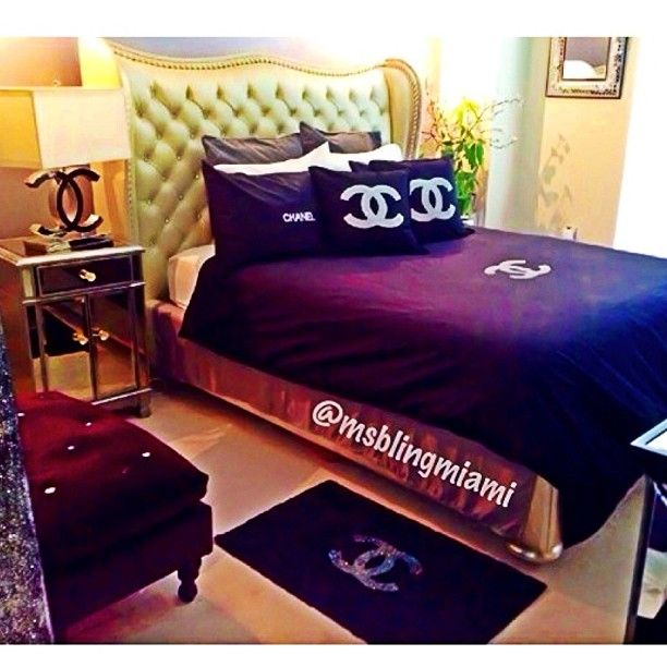 chanel. Black Bedroom Furniture Sets. Home Design Ideas