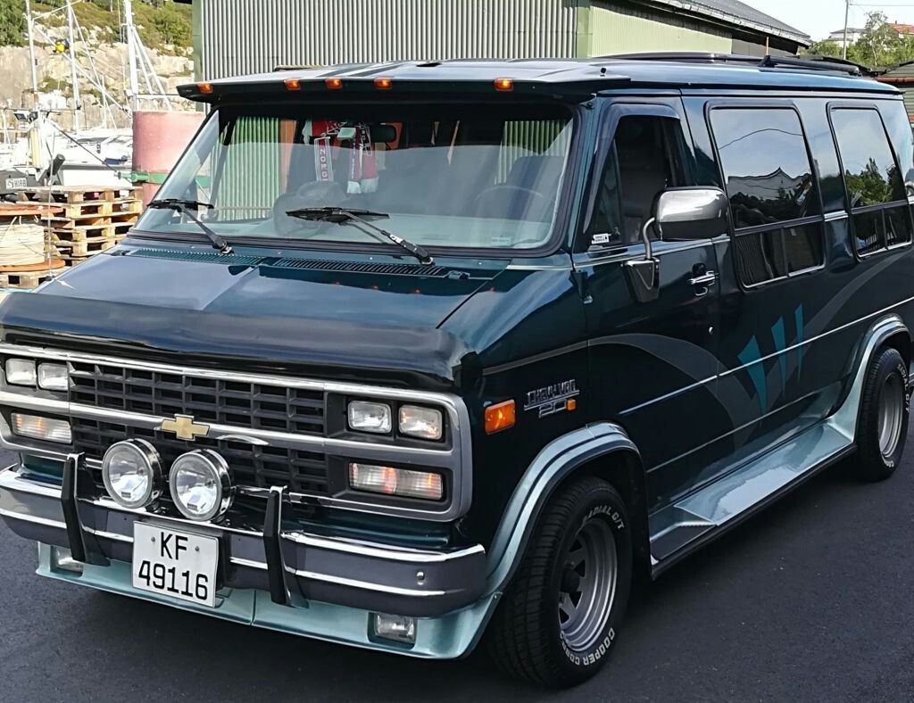 1995 Chevy G 20. (With images) Chevy van