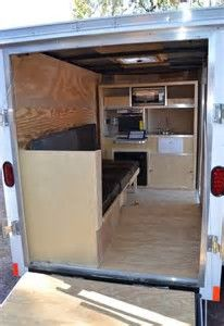 Image result for cargo trailer conversion floor plans 5x8 for My contractors plan