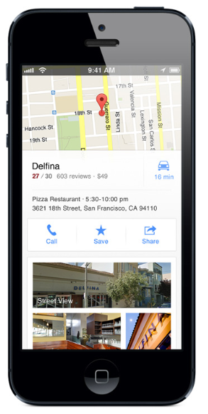 10 cool things about Google's new Maps app for iPhone