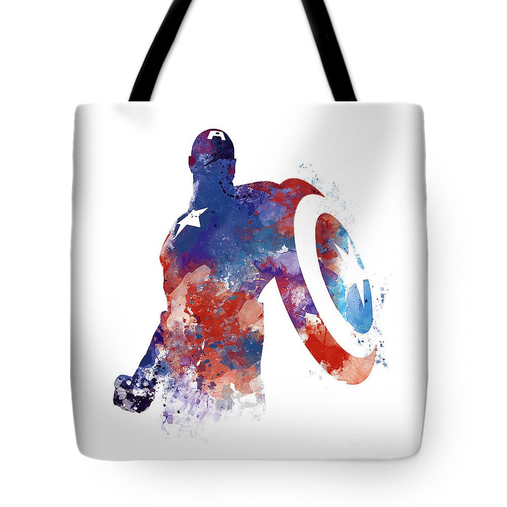 Captain America Tote Bag