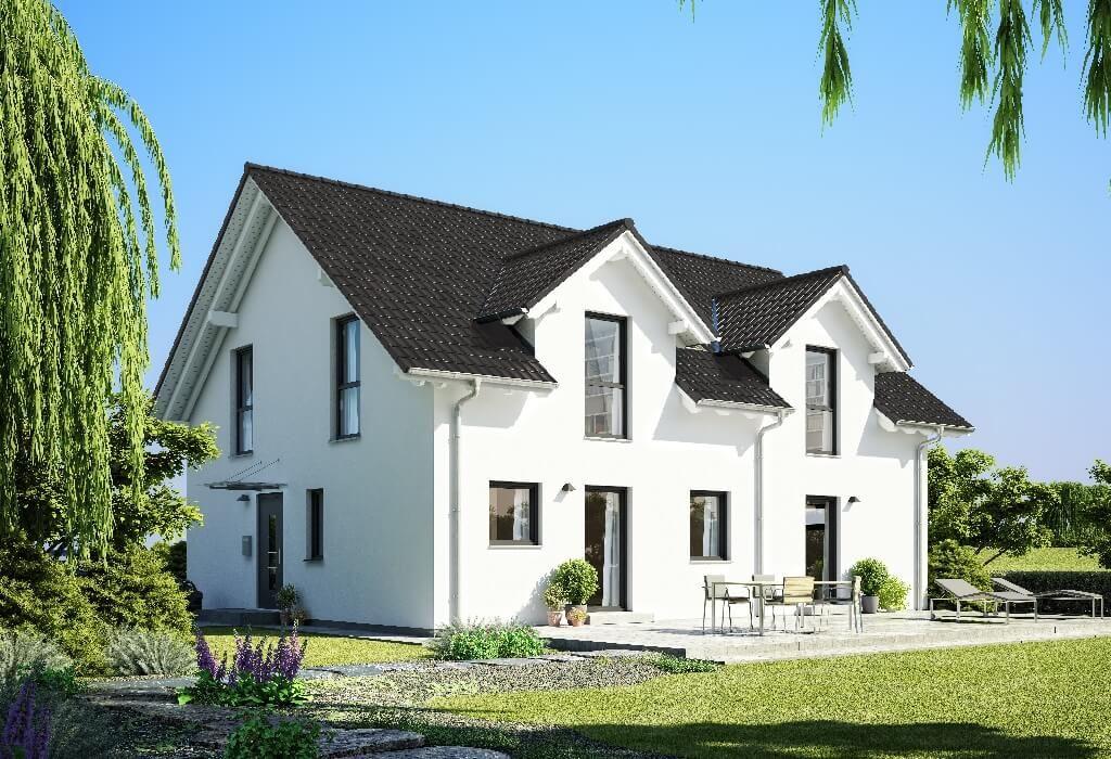 pin von hausbaudirekt auf hausbaudirekt pinterest haus zweifamilienhaus und haus bauen. Black Bedroom Furniture Sets. Home Design Ideas