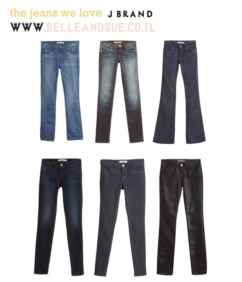 So many J Brand styles! #belleandsue