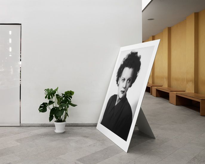 Arkitekturmuseet | Patrik Lindell Photography simple display for large format