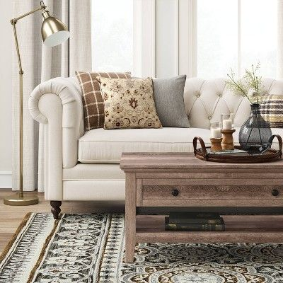 Best Medfield Chesterfield Sofa With Nailheads Cream Ivory 400 x 300