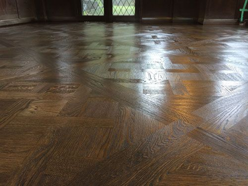 Wirebrushed And Antigue Oak Color Stained With Wax