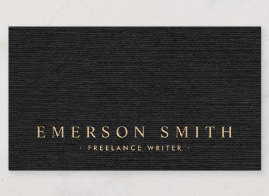 Elegant Black Linen Look Classy Business Card Zazzle Com Classy Business Cards Black Business Card Black Linen