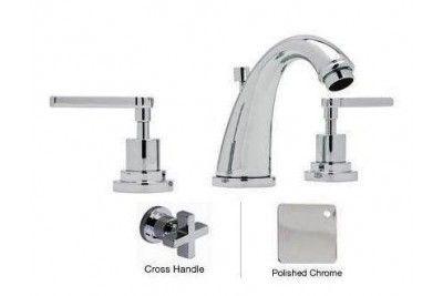 Rohl A1208xmapc 2 3 Hole Avanti C Spout Widespread Lavatory Faucet