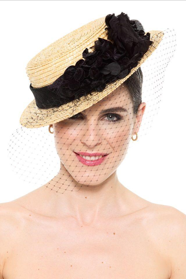 b2d79441f5f Fashion hats · Canotiers  Especie de sombreros de paja